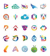 25 Graphic Vector Design Element v.2