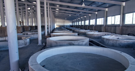 fish farm interior