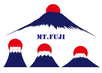 イラスト素材「富士山」