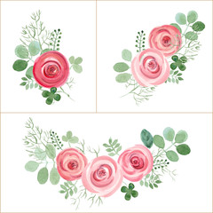 greeting card vector design elements