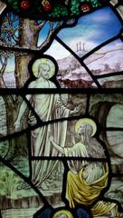 Easter: Mary Magdalene before the risen Jesus Christ