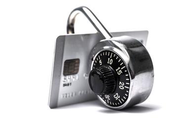 Locked credit cards
