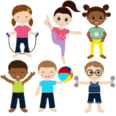 Children sport