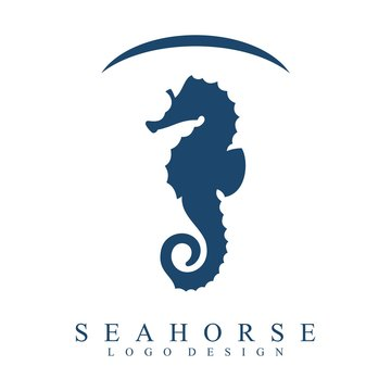 Sea Horses are Protected Logo Vector