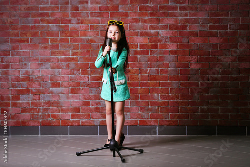 65196986f636 Beautiful little girl in dress and