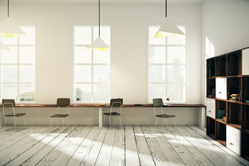 Coworking office interior design