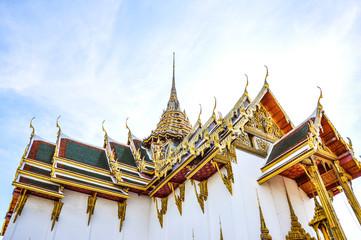 Grand palace bangkok, at grand palace, thailand