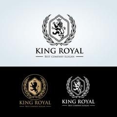 Lion Logo,Animal logo,Vector Logo template