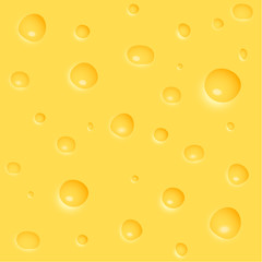 Cheese Background : Vector Illustration