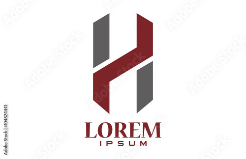 """logo letter h"""" stock image and royalty-free vector files on"""