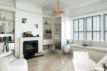 Das weiße Salon