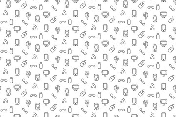 Electronics and mobile seamless background
