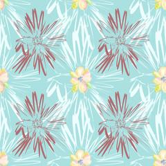 Creative Motif seamless pattern