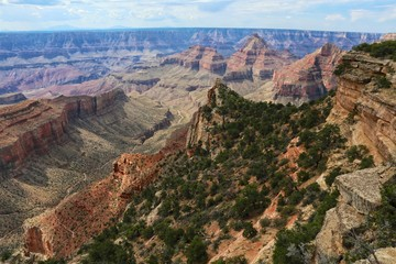 amazing grand canyon national park north section