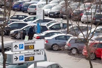 Parkleitsystem Innenstadt Verkehr