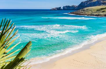 Sand Strand Mittelmeer Spanien Insel Bucht