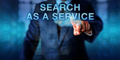 Enterprise Client Pressing SEARCH AS A SERVICE