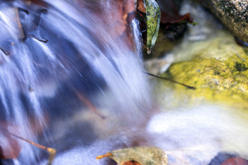 Cascata di acqua pura