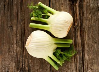 Fresh and tasty fennel