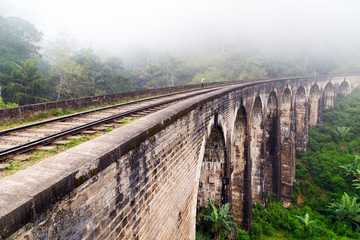 Rail road Demodara Nine Arch Bridge