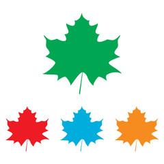 Maple leaf sign
