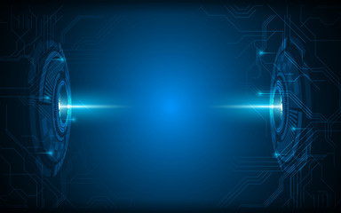 abstract future technology vision design innovation concept background