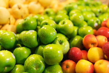 Apple fresh in market place