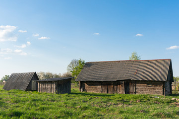 Old barn in the countryside