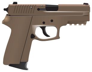 Gun - a weapon for close combat