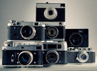old camera background toning photo 6