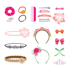 Hair Accessories Set, Accessories, Coiffure, Hairdressing, Beauty, Hairdo, Lifestyle, Fashion