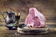 Dry Aged Porterhouse Steak auf Schneidebrett