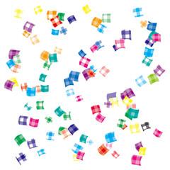 illustration of confetti