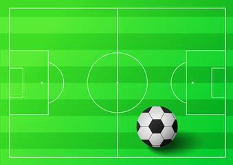 Soccer ball illustration2