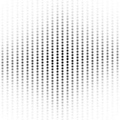 Abstract halftone dotted background.