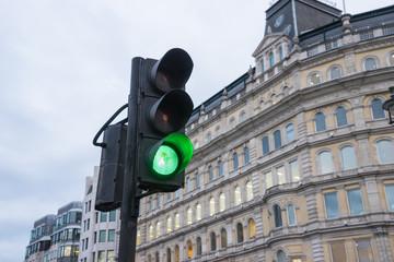 traffic, light, london, UK