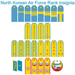 Insignia Air Force North Korean army