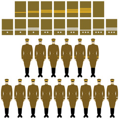 Insignia and uniform of the Imperial Japanese Army