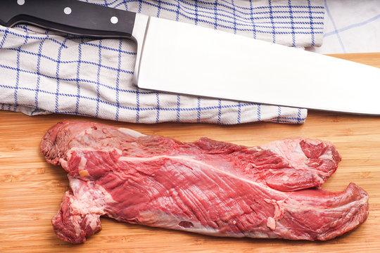 Hanging tender, Hanger steak, onglet