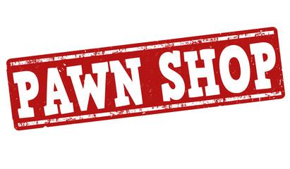 Pawn shop stamp