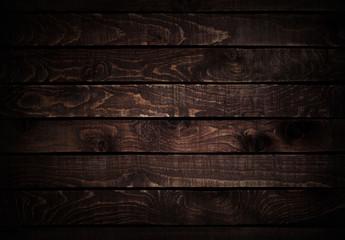 Wood background. Dark brown wood texture.