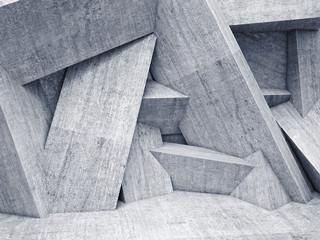Geometryczna ściana 3D