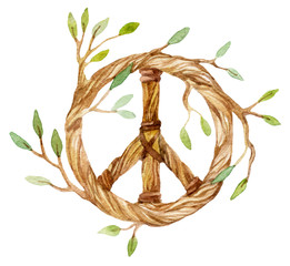 Dream catcher symbol of peace