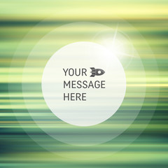 Vector Blurry Soft Background. Abstract Background with Place for Text.