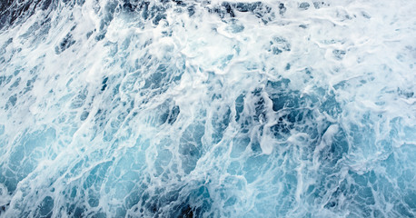 Splashing Waves Ocean