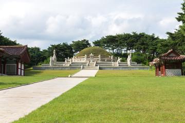 tomb of king Wang Gon North Korea