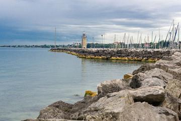Harbour in Desenzano