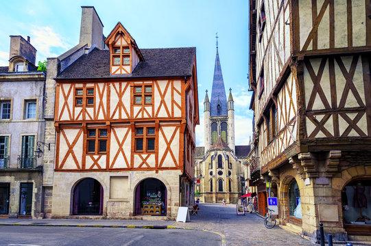 Old town of Dijon, Burgundy, France