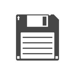 Magnetic floppy disc icon