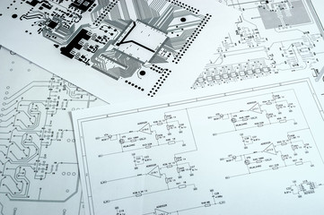 Obraz Schematic diagram - fototapety do salonu